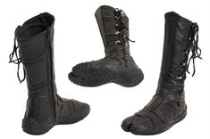 Leather Ninja Style Tabi boot
