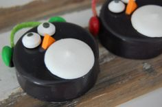 Penguin chocolate covered oreos