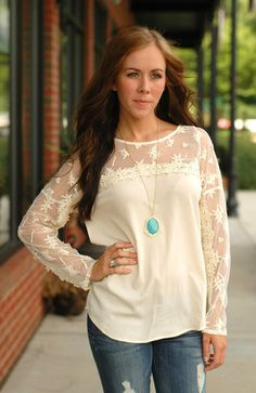 Beachy Lace Top