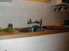 Tin Kitchen Backsplash Tiles - Tin Tile Backsplash Ideas Best Pickled Maple Kitchen Cabinets from article8 Tin Kitchen Backsplash Tiles  Gallery. Taken from Tile category. #kitchen #kitchenideas #kitchendecor #kitchendesign #homedesign #kitchenbacksplash