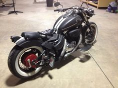 Bobber Rat Bike Suzuki Intruder