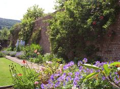 Part-Y-Seal Gardens, Monmouthshire. The 4 acre garden surrounds our country house in the Monnow Valley. It includes a walled garden and an organic kitchen garden - £3 entrance fee http://www.organicholidays.com/at/1682.htm