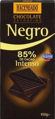 Tableta de chocolate negro 85% cacao - Producto
