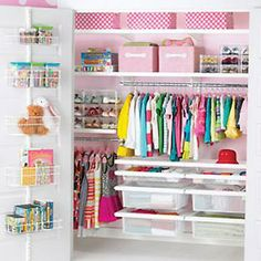 The Container Store > White elfa décor Girl's Reach-In Closet