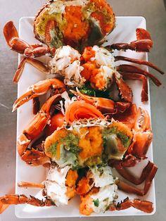 Thai Food Menu, Veggie Rolls, Authentic Thai Food, Crab Dishes, Chicken Salad Recipes, Thai Recipes, No Cook Meals, Bon Appetit, Seafood