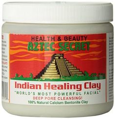 Aztec Secret Indian Healing Clay Deep Pore Cleansing, mix with water or Apple Cider vinegar