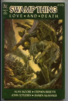 Swamp Thing Love And Death 1 TPB 1990 NM 1st 28 29 30 31 32 33 34 Annual 2