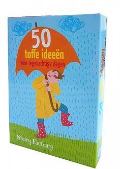 50 Toffe ideeën voor regenachtige dagen.