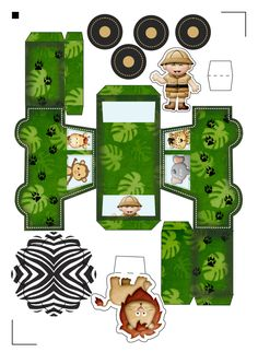 Safari Party, Advent Calendar, Birthday Parties, Scrap, Paper Crafts, Holiday Decor, Baby Shower, Box, Gifts