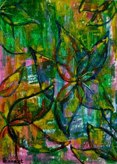 Abstract Flower Drawing Original Oil Pastel by CapArtShop Flower Art Images, Art Quotes Artists, Abstract Flower Art, Oil Pastel Drawings, Dog Snacks, Sign Design, Art Projects, Wall Art, Weekly Menu