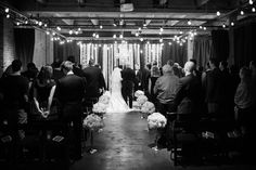 We can't get enough of this February wedding at the Melrose Market Studios on Capitol Hill! Ravishing Radish Catering   Sea Studios Photography