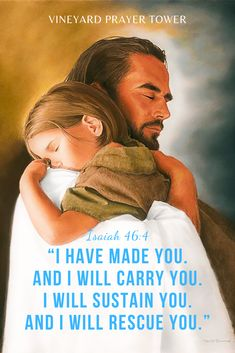 "The Powerful Name Yeshua: Photo - God & Jesus ❤️️ - kzong-ngajato: "" Even to your old age,I am He,And even to gray hairs I will carry you! Gospel Quotes, Christ Quotes, Church Quotes, Lds Quotes, Bible Verses Quotes, Scriptures, Psalm 16, Isaiah 46 4, Pictures Of Jesus Christ"