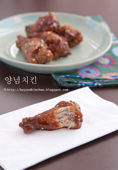 The famous Korean Fried Chicken. Taste the same but the spark is bigger. Don't know why. Maybe because the people who eat it is just very passionate towards chicken lol