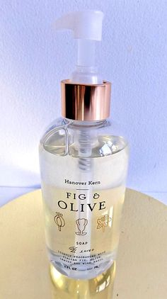 Hanover Kern Fig and Olive Hand Wash Illume Anthropologie 8fl. oz. #Illume