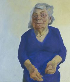 Maggi Hambling 'Portrait of Frances Rose', 1973 © Maggi Hambling. All Rights Reserved 2010 / Bridgeman Art Library Human Painting, Figure Painting, Painting & Drawing, Maggi Hambling, Hokusai, Portraits, Heart Art, Figurative Art, Contemporary Artists