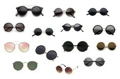 Round sunglasses are much in vogue currently, so pick the one of your choice and contribute in setting new trend in market. Types Of Sunglasses, Circle Sunglasses, Round Frame Sunglasses, Retro Sunglasses, Mirrored Sunglasses, Reduce Thigh Fat, Exercise To Reduce Thighs, Mens Gym Bag, Leather Jacket Outfits