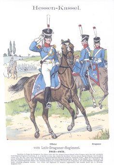 Band IV #16.- Hessen-Kassel. Leib-Dragoner-Regiment. 1813-1821. .