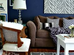 dark blue is said to be a great living room paint color because its powerful but relaxing homeward bound pinterest paint colors room paint colors - Great Living Room Paint Colors