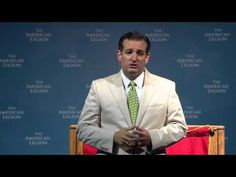 Sen. Ted Cruz Addresses the American Legion National Convention   SenTedCruz