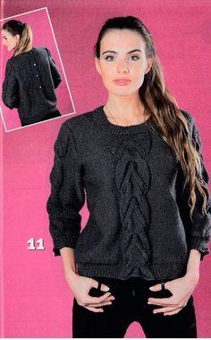 Серый пуловер с пуговицами на спинке. Обсуждение на LiveInternet - Российский Сервис Онлайн-Дневников