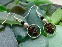 #Holzschmuck #Ohrringe #Silber #Schmuck #Erlenzapfen #perle #nature #Natur #alternative #silver #earring #jewellery #wood