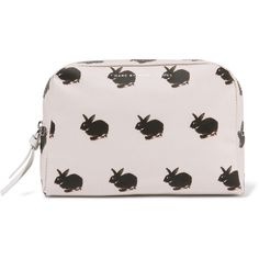 c40aeffb13b0 Marc by Marc Jacobs Printed coated cotton cosmetics case (€33) ❤ liked on  Polyvore featuring beauty products