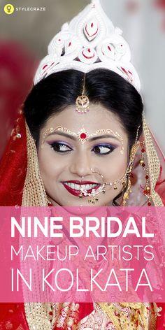 9 Best Bridal Makeup Artists In Kolkata - 2019 Update