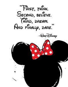 Disney Quote Poster, Digital Obtain, Kids's Decor, Printable Wall Artwork, M Cute Disney Quotes, Disney Cute, Walt Disney Quotes, Disney Sayings, Disney Disney, Disney Senior Quotes, Disney Couples, Disney Dream Quotes, Disney Quotes About Dreams