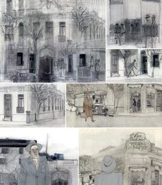 """Jorge González Sketch para el libro """"Llamarada"""" (26)"""