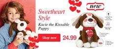 Kacie the kissable puppy