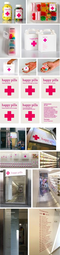 Tienda de chuches Happy Pills (Barcelona)