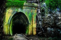 Abandoned railway tunnel at Helensbergh- south of Sydney.  http://500px.com/photo/4551760#