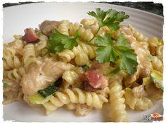 Cestoviny s kuracím mäsom a pórom | recept | RadVarim.sk Ethnic Recipes