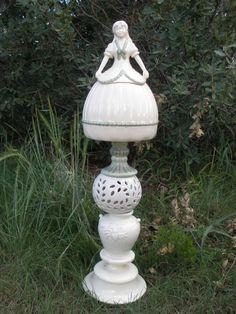 Princess Cookie jar Yard Garden totem