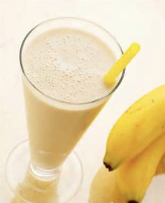 Dag 9 smoothie challenge. Banana Sunshine Smoothie.