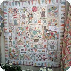 Bloček I - 2. hodina - Irmiklub.cz Annie Downs, Sampler Quilts, Applique Quilts, Patches, Orphan, Blanket, Sewing, Kitchen Sink, Gossip