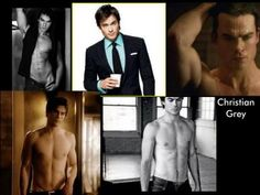 red room, ceo, shower, and more red room!!! ian somerhalder is perfect for the role of christian grey