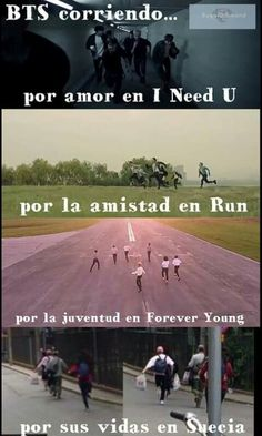 Resultado de imagen para meme bts they run in forever young for young