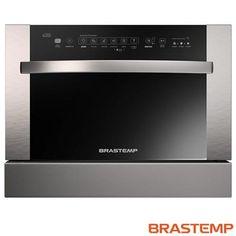 Imagem para Lava Louça de Embutir com 6 Serviços Built In Brastemp com Painel Digital Touch Inox - BLB06 a partir de Fast Shop