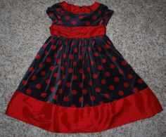 GORGEOUS GIRLS BITTY BABY/AMERICAN GIRL DOLL HOLIDAY DRESS SIZE 6 WOW!
