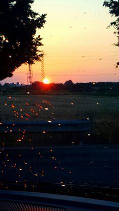 #Italien #Sonnenuntergang