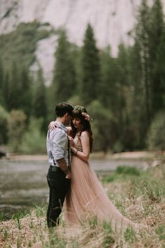 Pete & Michelle's Yosemite elopement » photo by Loren X Chris - Wedding Photographers