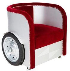 Roche Bobois Ben Hur Armchair   How cool!! #ad