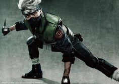Kimisawa Yuuki as Kakashi from Live Spectacle Naruto... I love the texture of this costume *u*