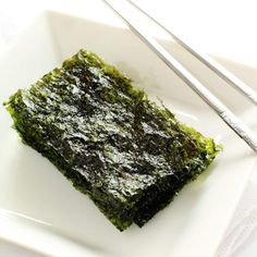 4 Reasons to Keep Nori in the Pantry — Nori are thin, dried seaweed sheets. Nori sheets are used in many sushi dishes, for rice balls and as a topping or condiment for various noodle and other dishes. Sea Weed Recipes, Gf Recipes, Asian Recipes, Whole Food Recipes, Vegetarian Recipes, Cooking Recipes, Healthy Recipes, Ethnic Recipes, Seaweed Wrap