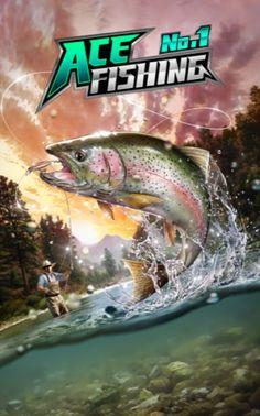 Ace Fishing - Cooles Angelspiel - kostenlose App