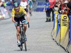 CRITERIUM DU DAUPHINE STAGE SEVEN GALLERY Pain was etched over the face of Froome, who had crashed 24 hours earlier
