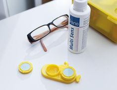 Submarine Contact Lens Case