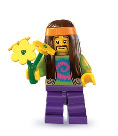 Hippie Series 7 All Minifigure packets will be opened to guarantee the correct Minifigure – Comes complete with opened packets leaflet and accessories