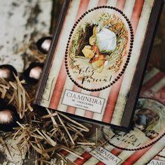 Como já é tradição aqui na Cia. Mineira, estamos preparando embalagens lindas e exclusivas para uma Páscoa que vai encher os olhos e corações com histórias preciosas! ✨✨🐇 #Páscoa2017 #CiaMineiradeChocolates #Easter